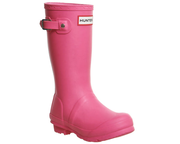 Kids Hunter Original Welly 711 Fuschia