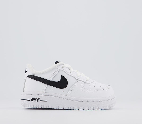 Kids Nike Air Force 1 Infant White Black