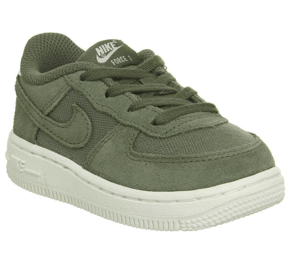 Kids Nike Air Force 1 Infant Khaki Suede