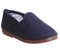 Kids Flossy Flossy Plimsole Navy Canvas