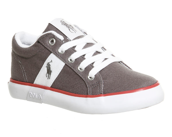 Kids Ralph Lauren Giles (K) 10 - 2 Grey White Uk Size 12 Youth