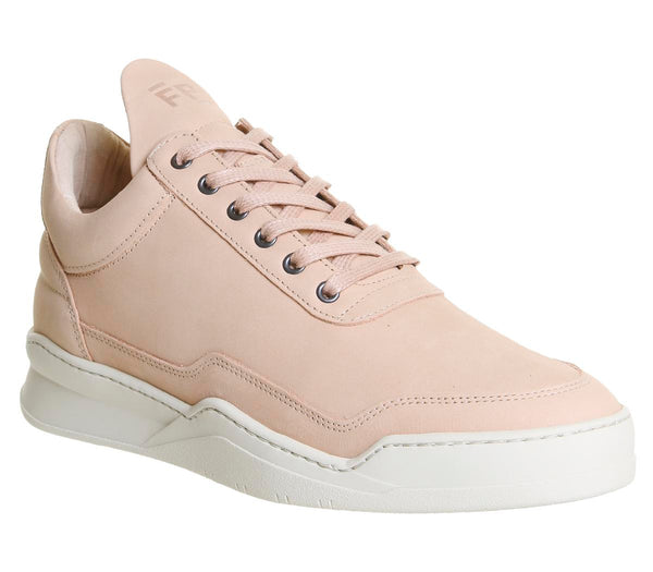 Mens Filling Pieces Low Top Ghost Light Pink