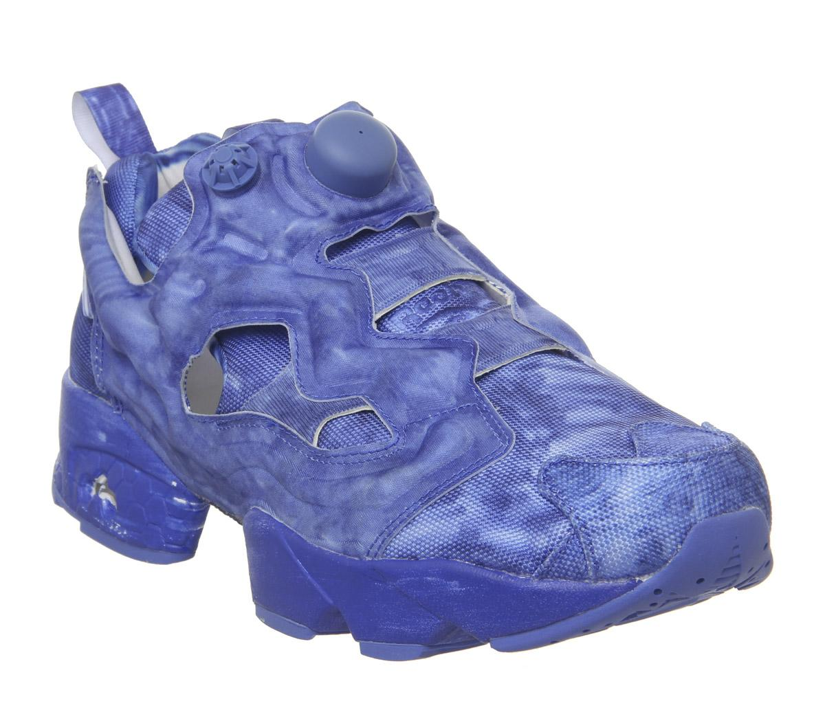 Mens Vetements Pump Fury X Vetements Washed Blue