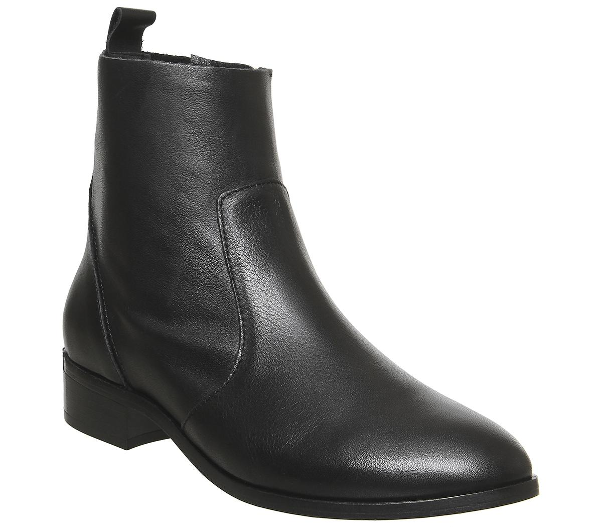 Womens Office Ashleigh Flat Ankle Boot