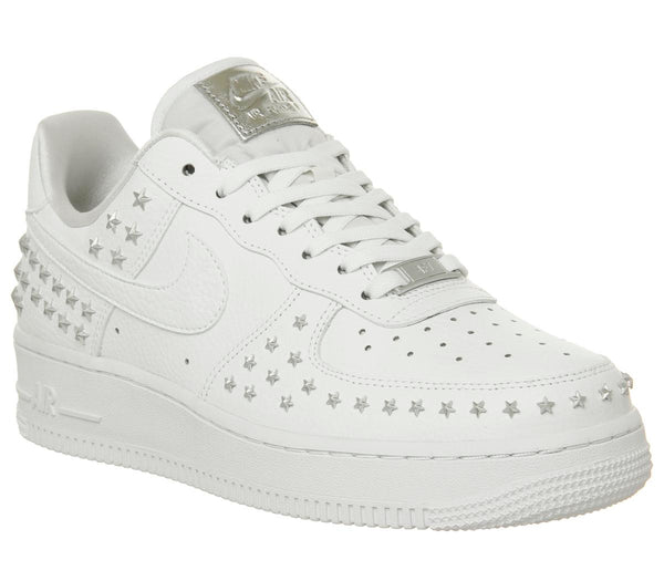 4db68788833b2 Womens Nike Air Force 1 07 White Star Stud Uk Size 4