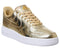 Womens Nike Air Force 1 07 Metallic Gold Trainers