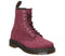 Womens Dr Martens 8 Eyelet Lace Up Bt Wine Soft Buck