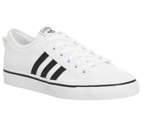 c4baba6ee Mens Adidas Nizza White Core Black Uk Size 9