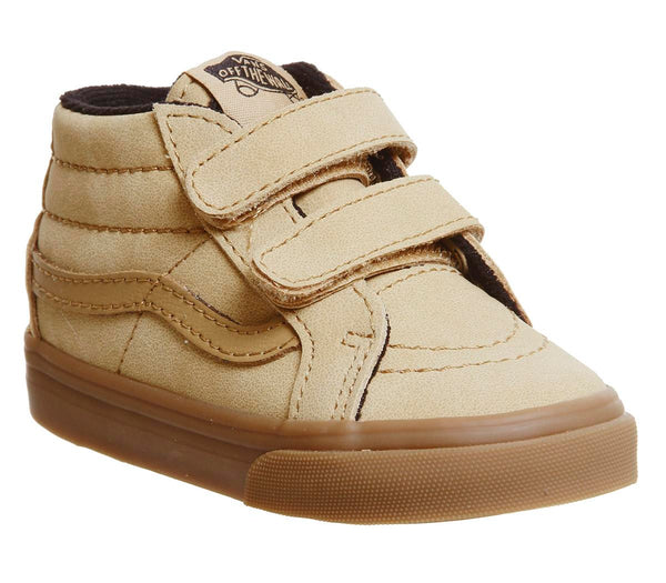 Kids Vans Sk8 Mid Reissue Toddler V Vansbuck Apple Cinnamon