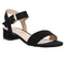 Womens Office Morgan Block Heel Sandal Black