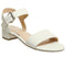 Womens Office Morgan Block Heel Sandal White