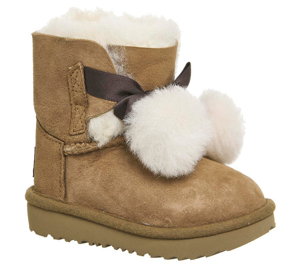 Kids Ugg Gita Infant Chestnut