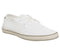 Mens Office Epic Lace Up White Mesh Canvas
