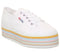 Womens Superga 2790 White Multicolour