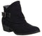 Womens Blowfish Sill Ankle Boot Black Texas