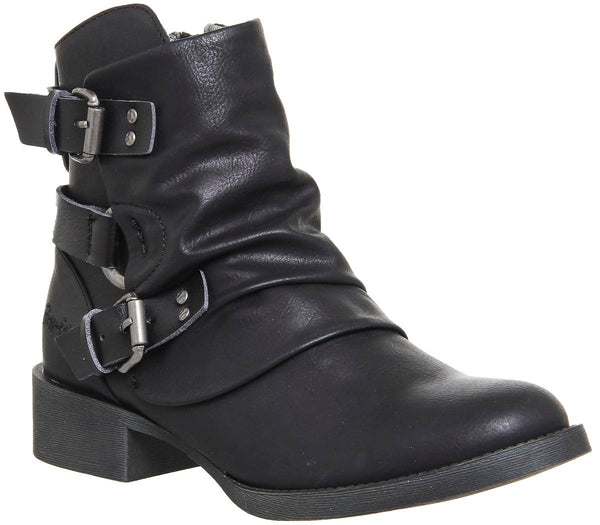 Womens Blowfish Korrekt Tall Boot Black Lonestar