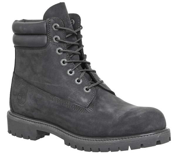 Mens Timberland 6 Inch Double Collar Dark Grey
