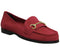 Womens Office Fate Loafer Red Suede