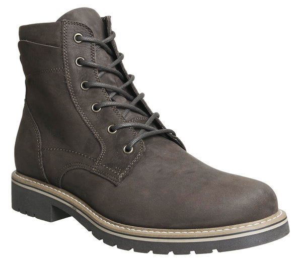 Mens Ask The Missus Go Far Lace Boot Brown Nubuck