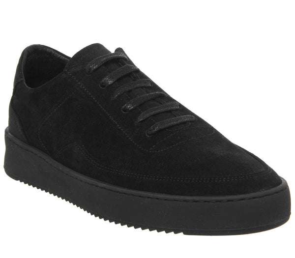 Mens Filling Pieces Low Mondo Ripple Black