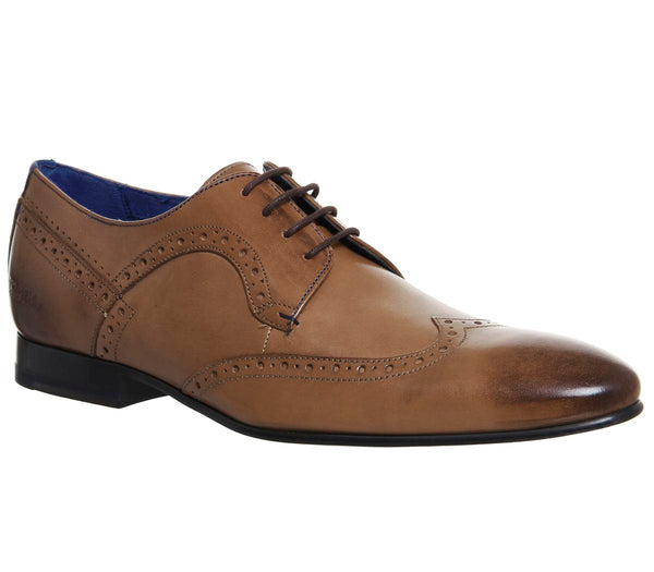Mens Ted Baker Ollivur Brogue Tan Leather Uk Size 8