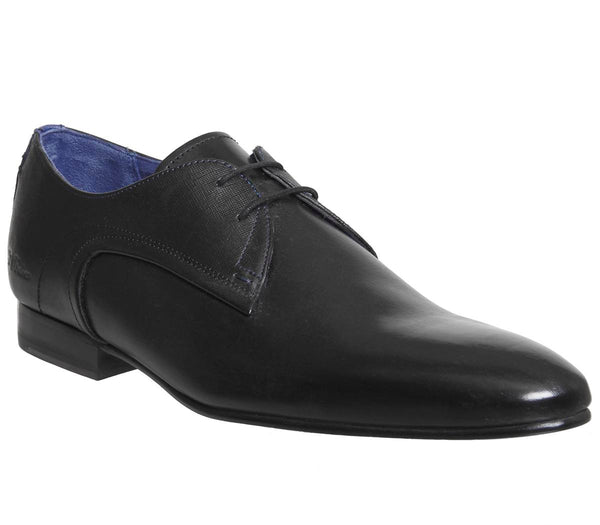 Mens Ted Baker Peair Lace Up Black Leather