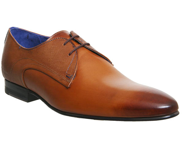 Mens Ted Baker Peair Lace Up Tan Leather Uk Size 7