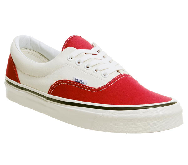 Mens Vans Ua Era 95 Dx Og Red White Anaheim
