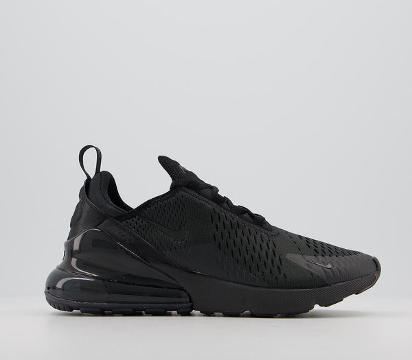 Womens Nike Air Max 270 Black Black Uk Size 7