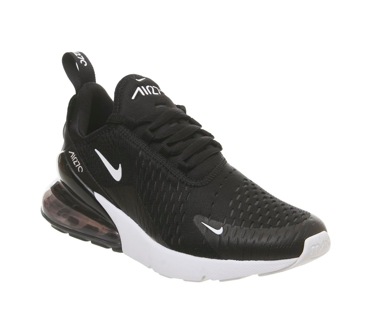 Womens Nike Air Max 270 Black Anthracite White F