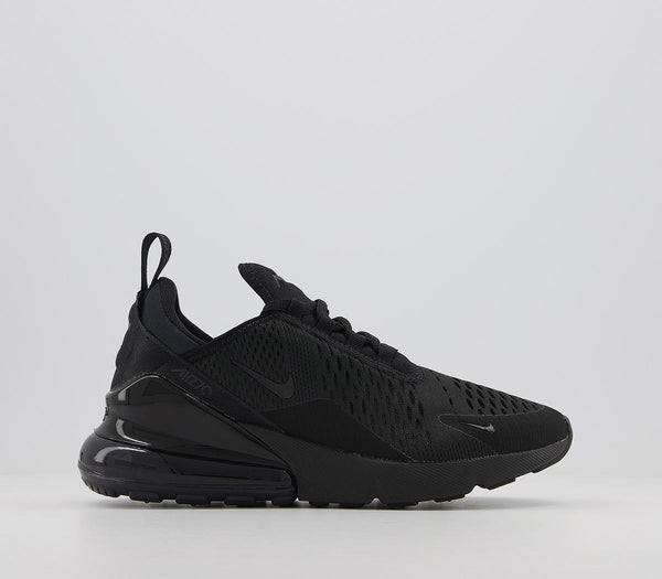 Odd sizes - Womens Nike Air Max 270 Black Black F Sizes R8/L9
