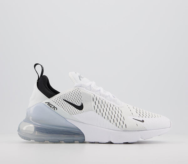 Mens Nike Air Max 270 White Black White Uk Size 8