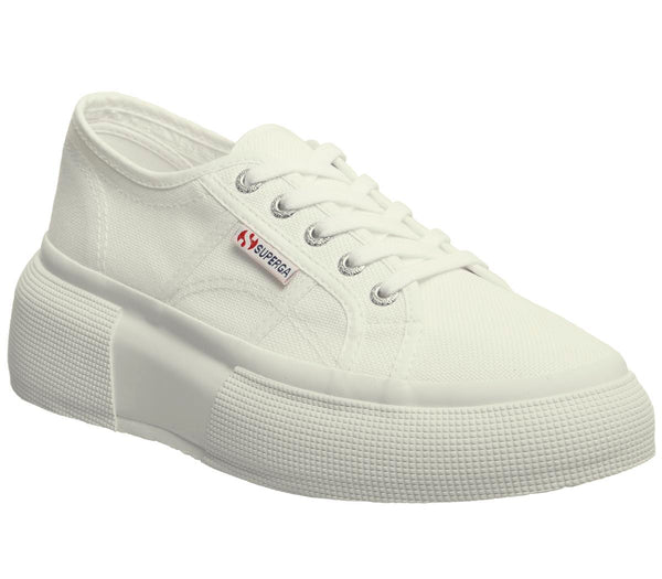 Womens Superga 2287 White White