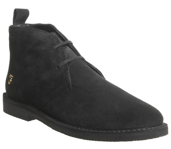 Mens Blowfish Lozza Desert Boot Black Suede Uk Size 9