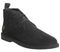 Mens Farah Lozza Desert Boot Black Suede