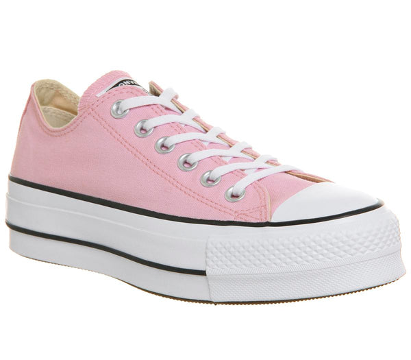Womens Converse All Star Lift Low Cherry Blossom White Uk Size 6