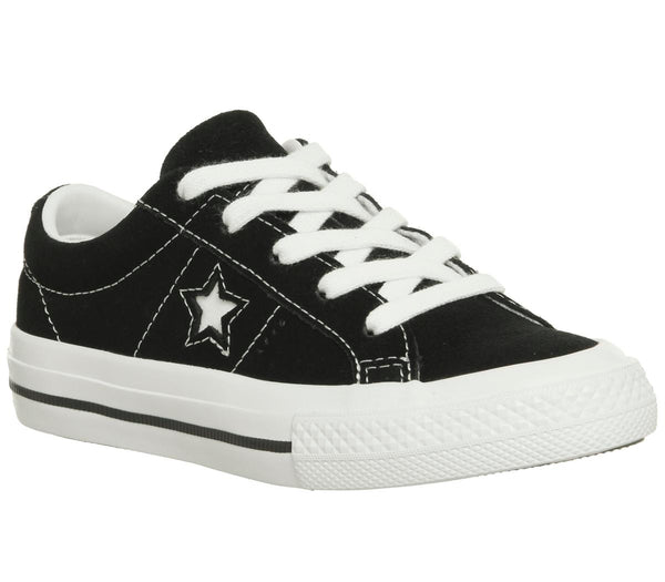 Kids Converse One Star Youth Black White