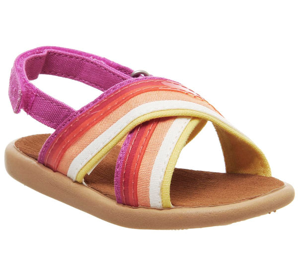 Kids Toms Viv Sandal Infant Persimon Horizon Purple