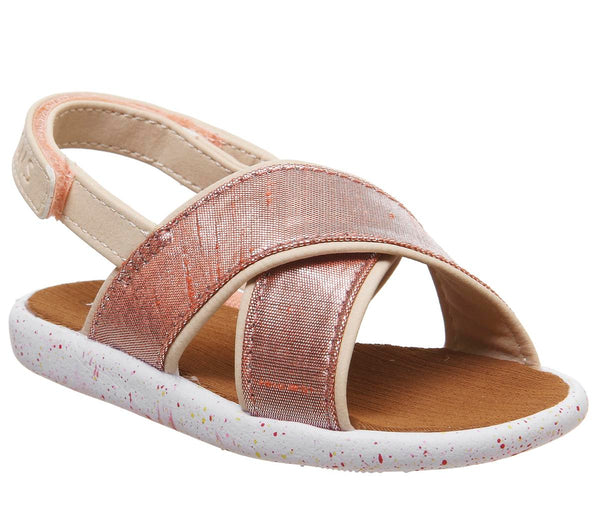 Kids Toms Viv Sandal Infant Persimon Metallic