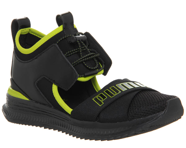 Womens Puma Fenty Avid Puma Black Lime Punch Uk Size 5