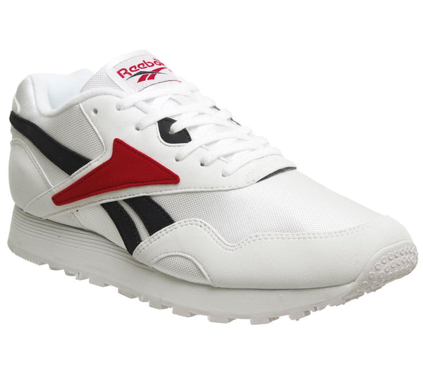 Womens Reebok Rapide Og White Col Navy Excellent Red