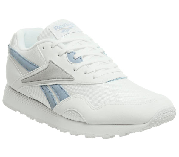Womens Reebok Rapide White Aviator Blue Skull Grey