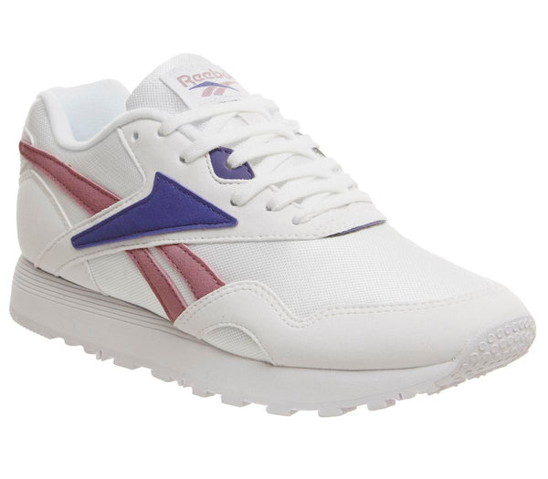 6da53b446 Mens Reebok Rapide White Infused Lilac Shadow Uk Size 10