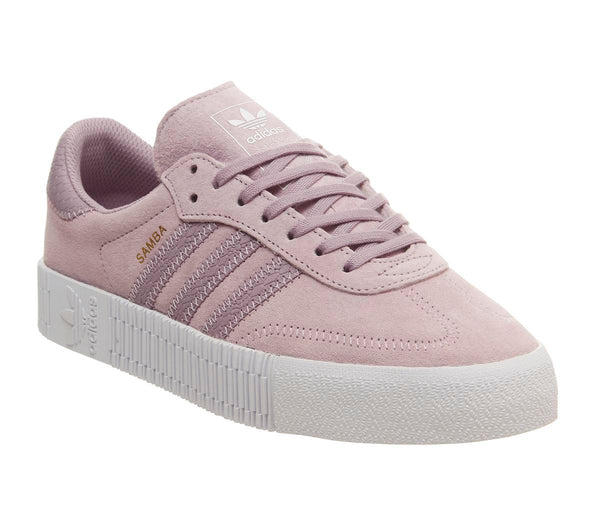 Womens Adidas Samba Rose Soft Vision White