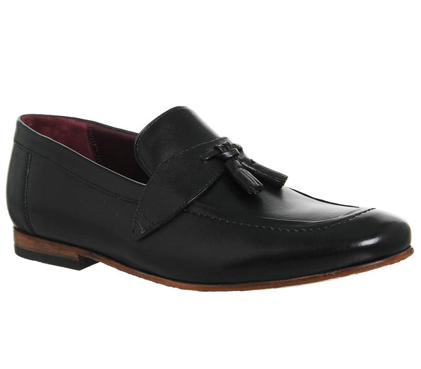 Mens Ted baker Grafit Loafer Black Leather