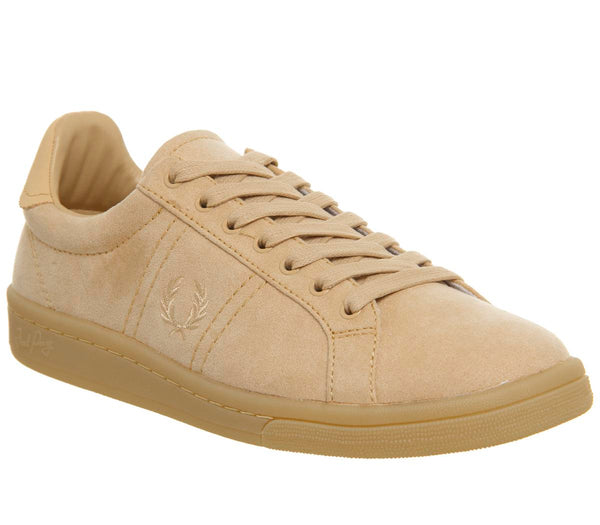 Womens Fred Perry Authentic Court Natural Tan
