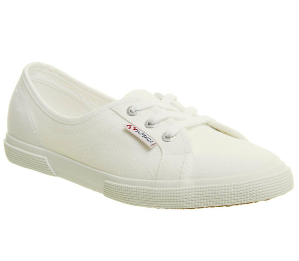 Womens Superga 2211 White White