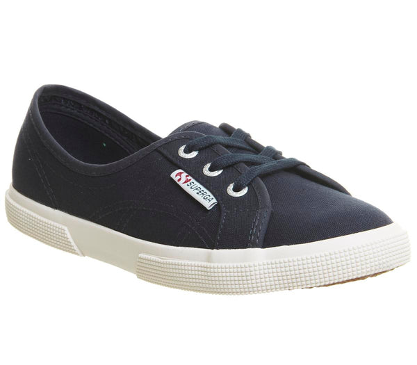 Womens Superga 2211 Navy White