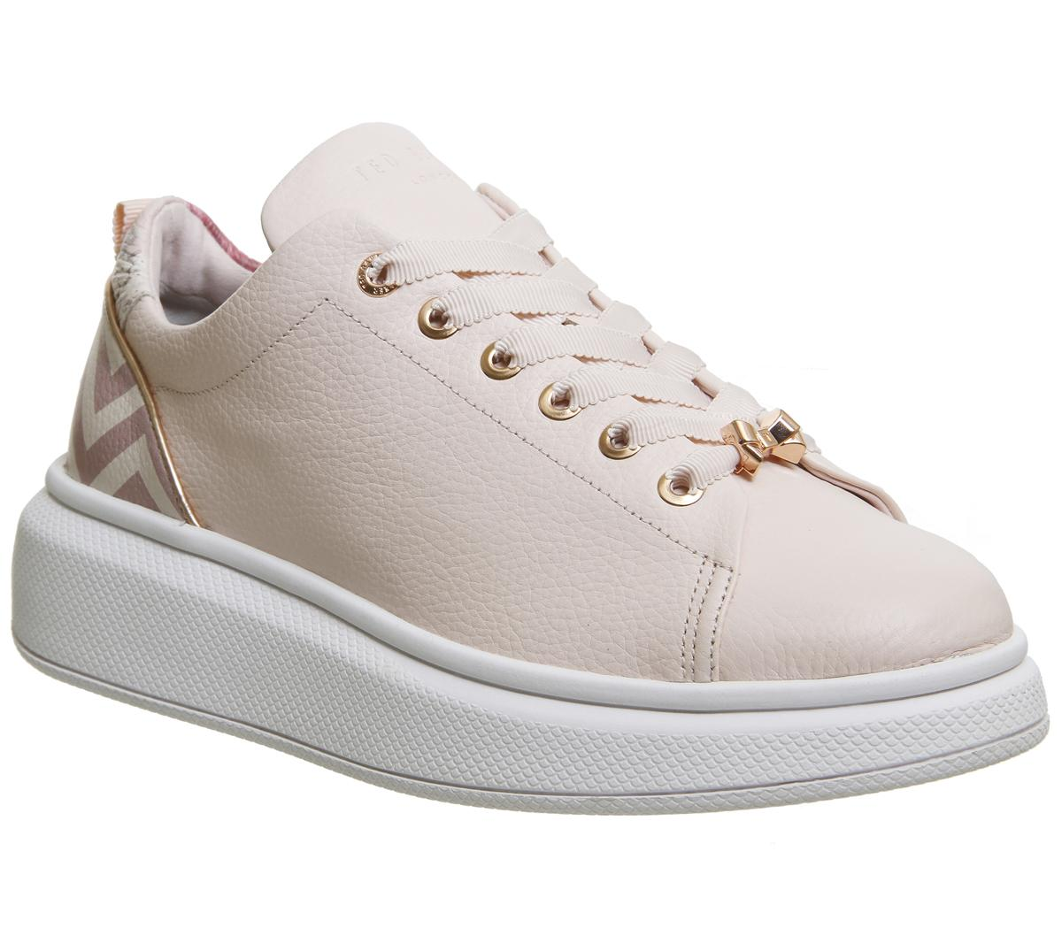 Womens Ted Baker Ailbe Sneaker Light Pink Palace Gardens