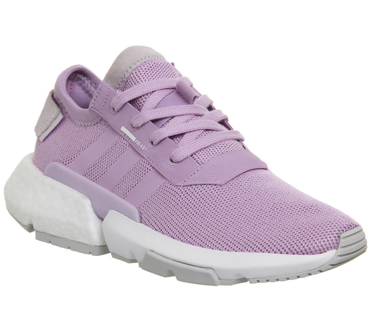 Womens Adidas Pod S3.1 Clear Lilac Orchid Tint